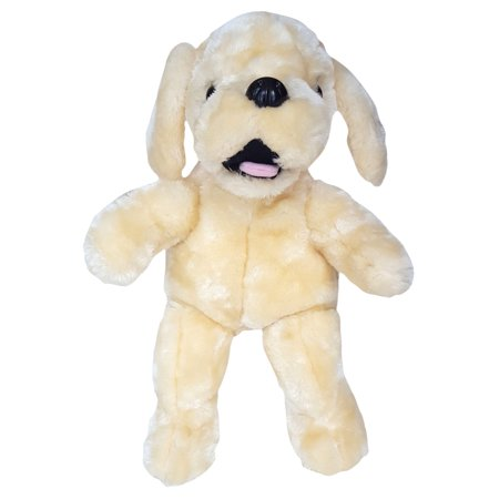 - Cuddly Soft 16 inch Stuffed Yellow Lab Dog - We stuff 'em...you love 'em!