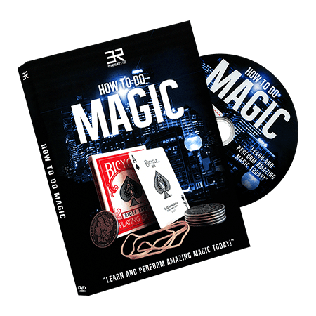 How To Do Magic By Eric Ross   Dvd