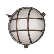 """Norwell Lighting 1102 Mariner Single Light 9"""" Tall Outdoor Wall Sconce with Whit"""