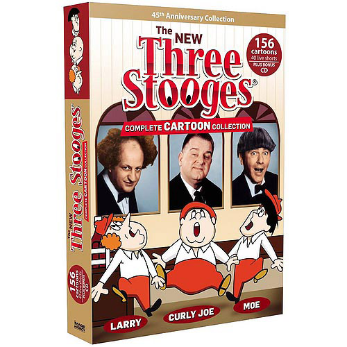 The New Three Stooges: Complete Cartoon Collection (Full Frame) by MADACY ENTERTAINMENT GROUP INC