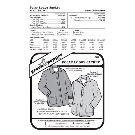 Polar Lodge Jacket Sewing Pattern
