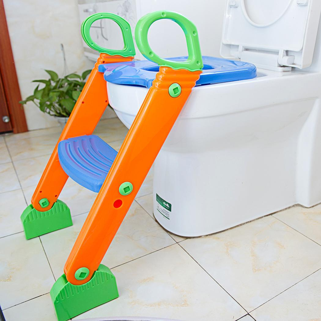 Kids Potty Training Seat with Step Stool Ladder for Toddler Child Toilet Chair SPHP by
