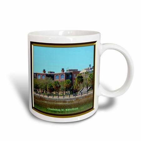 3dRose Charleston SC Waterfront, Ceramic Mug, 11-ounce