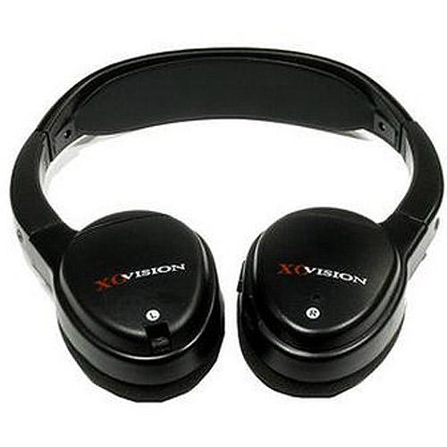 XO Vision IR620 IR wireless headphones for in-car Video listening