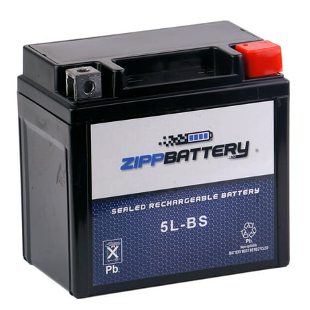 YTX5L-BS ATV Battery for Kawasaki 80cc KSF80-A KFX80 2005