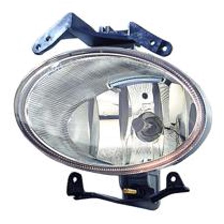 Compatible 2007 - 2009 Hyundai Santa Fe Fog Light Lamp Assembly Replacement Housing / Lens / Cover - Left (Driver) 92201-2B000 HY2592126 Replacement For Hyundai Santa -