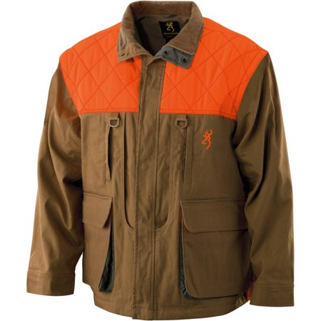 Browning Upland Canvas Jacket, Zip Sleeve, Field Tan