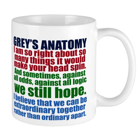 CafePress - Grey's Anatomy Collage - Unique Coffee Mug, Coffee Cup (Collage Coffee)