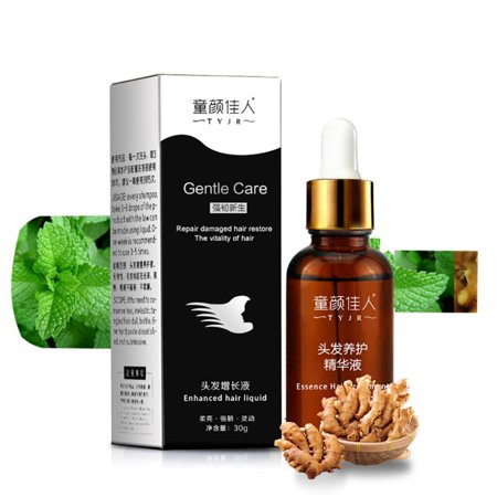 Natural Hair Growth Serum – Encourages Scalp Stimulation and Reactivates Hair Follicles to Promote Fuller, Thicker, Healthier Hair and Promote Hair Growth Hair Follicle Regrowth