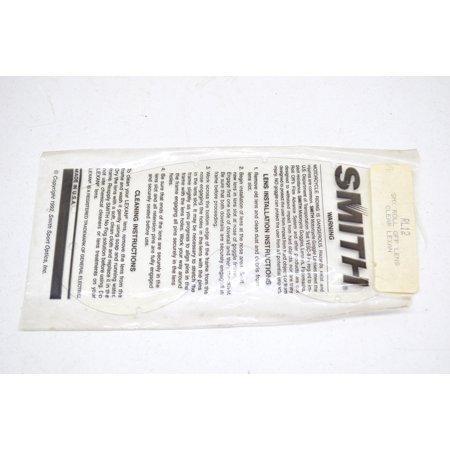 Smith RL12, 9539 SMX Roll Off Lens Clear Lexan QTY 1