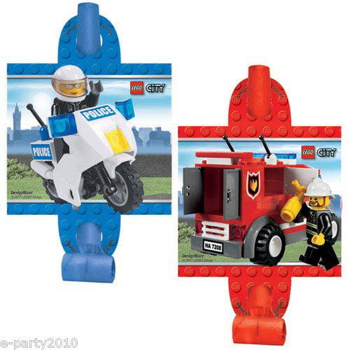 LEGO City Party Blowouts / Favors (8ct)