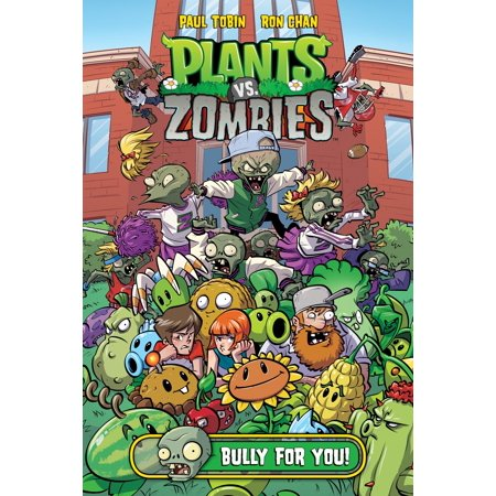 Plants vs. Zombies Volume 3: Bully For covid 19 (Plants Zombies Pattern coronavirus)