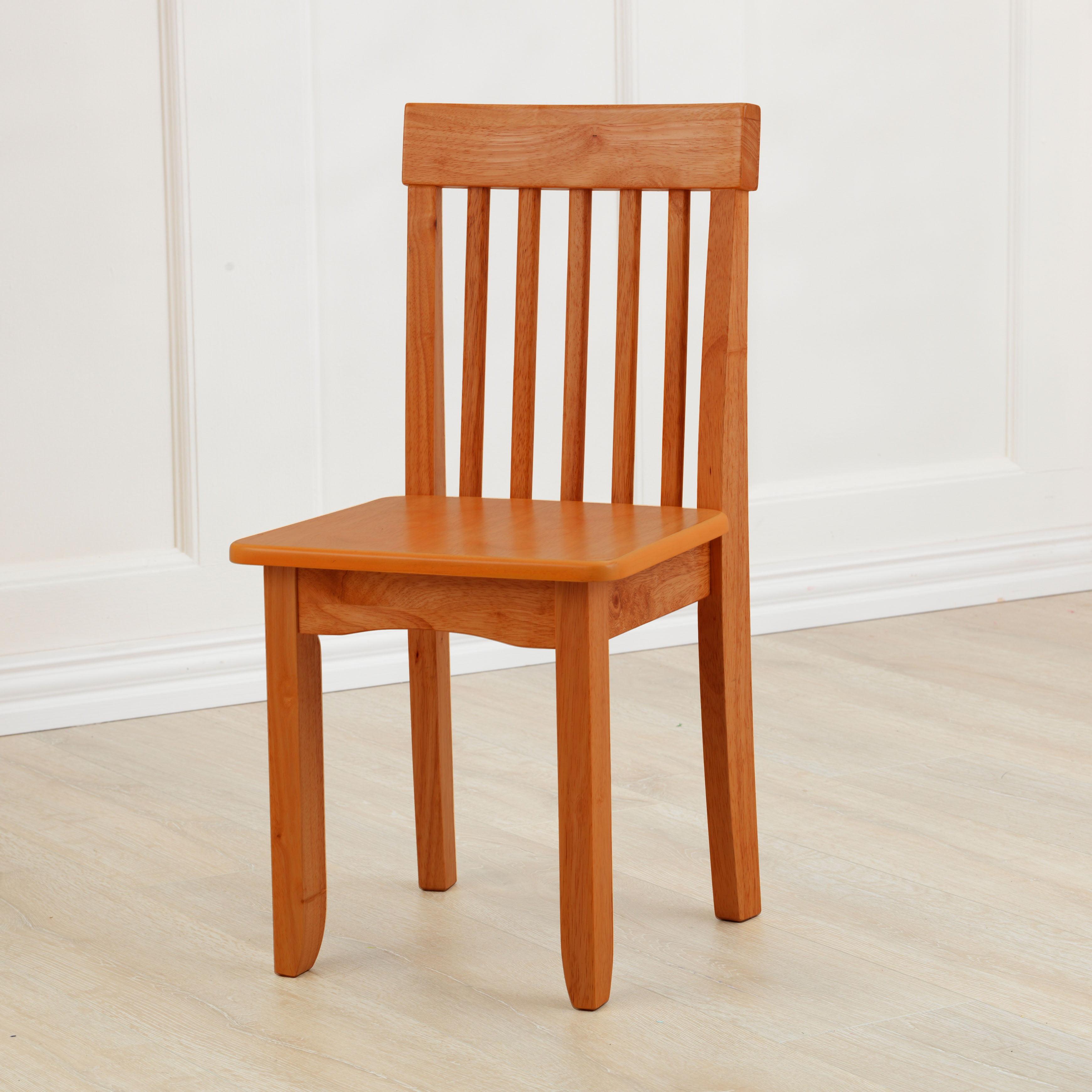 Miraculous Kidkraft Avalon Wooden Single Classic Back Desk Chair For Children Honey Cjindustries Chair Design For Home Cjindustriesco