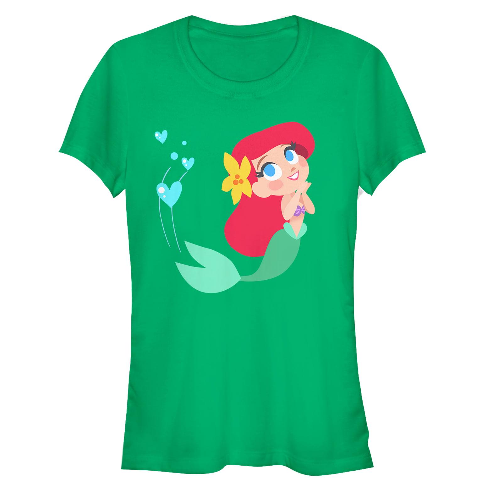 The Little Mermaid Juniors' Ariel Love T-Shirt