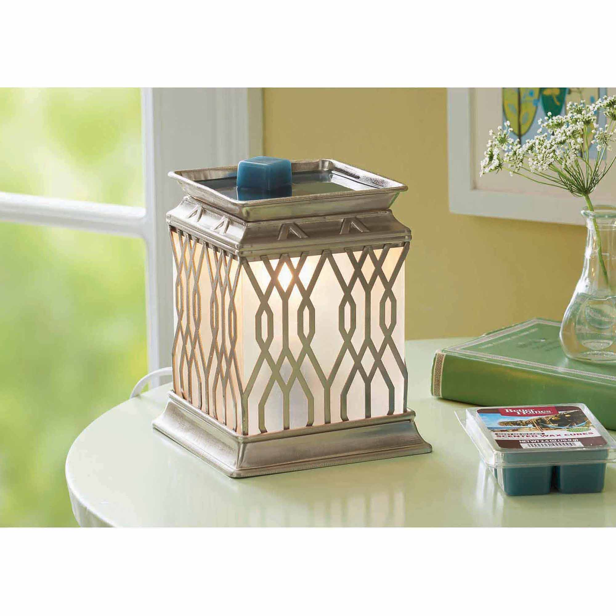 better homes and gardens full-size wax warmer, square trellis