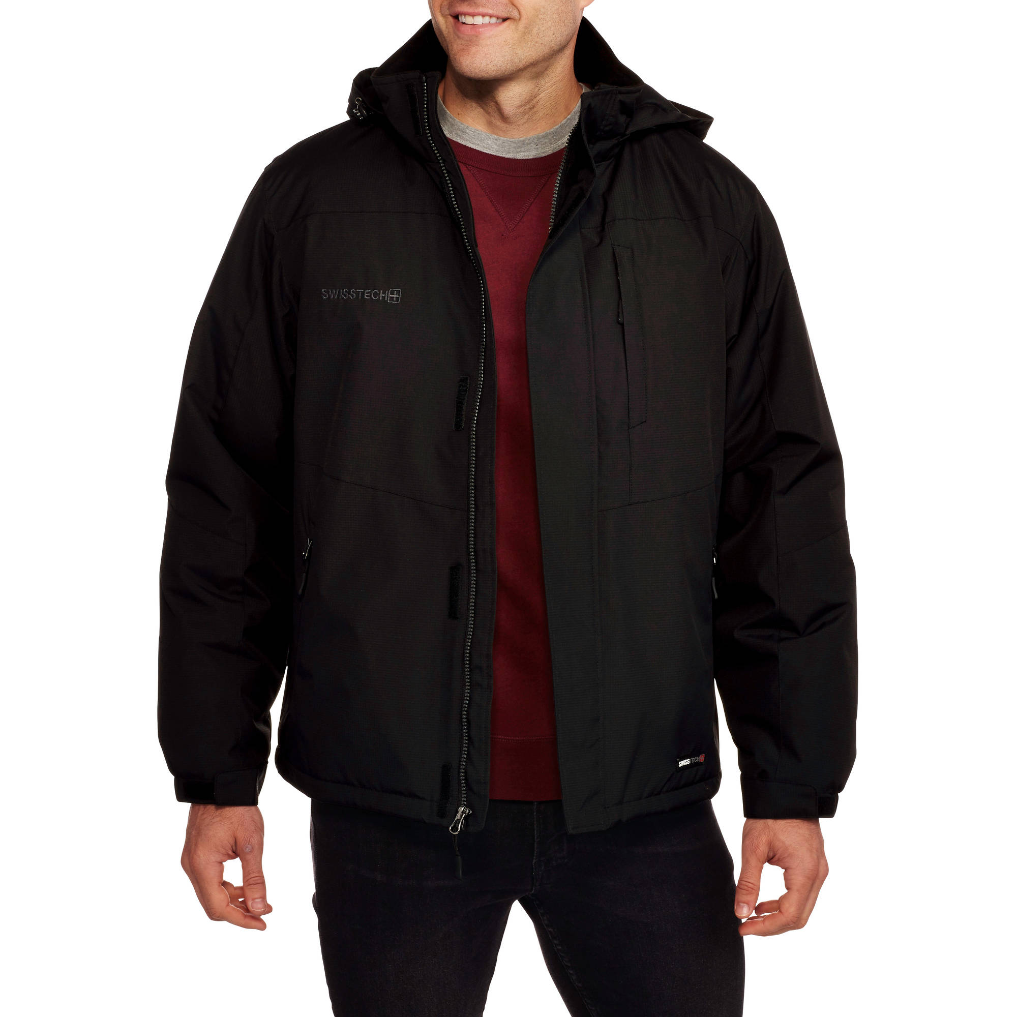 Swiss Tech Men's Midweight Jacket