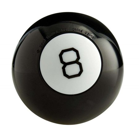 Magic 8 Ball Classic Fortune-Telling Novelty Toy (Halloween Novelty Toys)