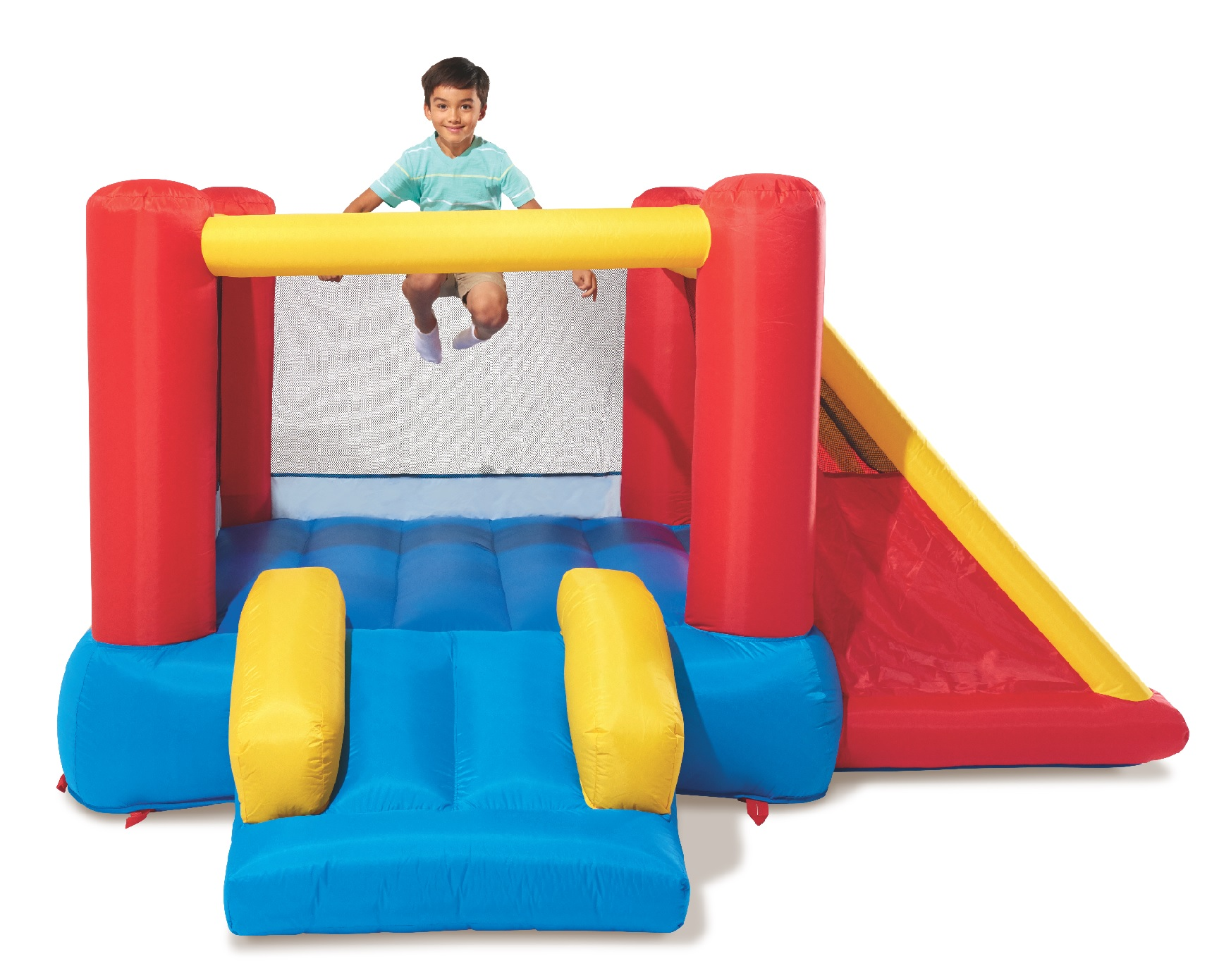 Play Day Inflatable Teepee Fort Bounce House Walmart Com
