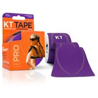 KT Tape Pro Precut Strips, Epic Purple, Fitness, 20 CT