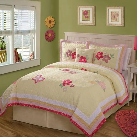 Gold Trail Bedding Quilt Set, Yellow