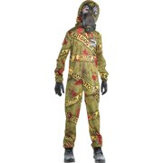 Quarantine Zombie Halloween Costume for Boys, Large, with Accessories