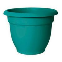 """Bloem Ariana Self Watering Planter 12"""" Bermuda Teal"""