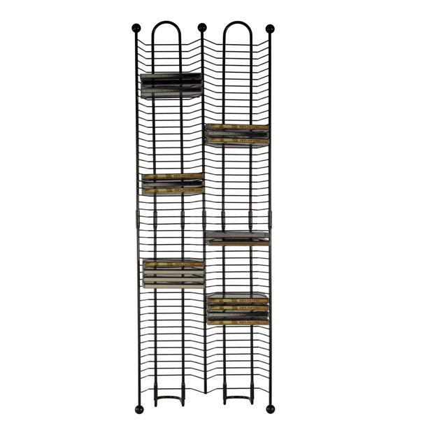 "Atlantic 33"" 100-CD Media Storage Rack Tower"