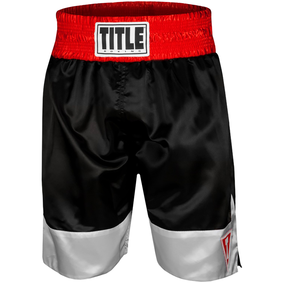 "Title Boxing Force 4"" Waistband Satin Boxing Trunks"