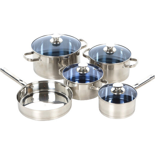 Gourmet Chef Stainless Steel 14 Piece Cookware Set