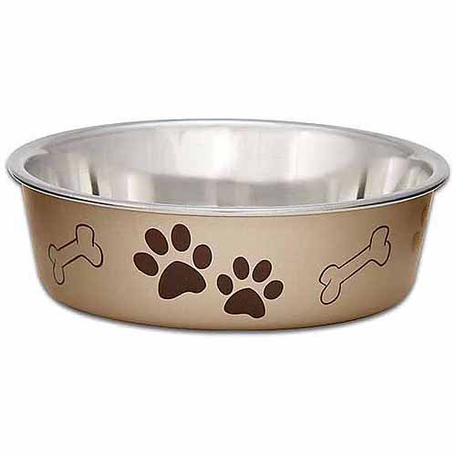 Metallic Bella Bowl Medium 1qt-Champagne