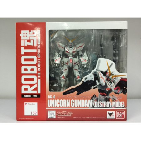 Bandai Robot Spirits #159 RX-0 Unicorn Gundam Destroy Mode Action Figure (Robot Spirits Figure)