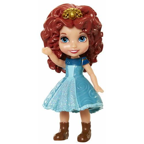 "Mini 3"" Disney Princess Merida Doll"