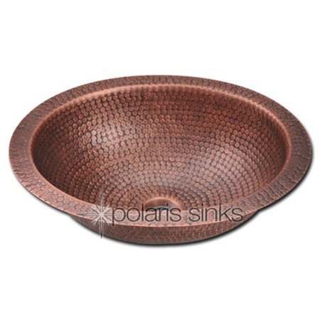 Copper Bowl Sink : Polaris Sink P909 Single Bowl Oval Copper Sink - Walmart.com