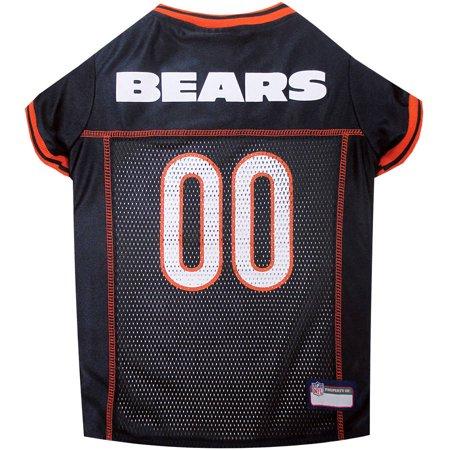 Nfl Pet Set - Pets First NFL Chicago Bears Pet Jersey