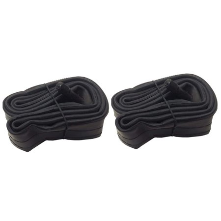 Heavy Duty Schrader Bicycle Inner Tubes Cycling Valve Bike Tube Cruiser (2 Pack,