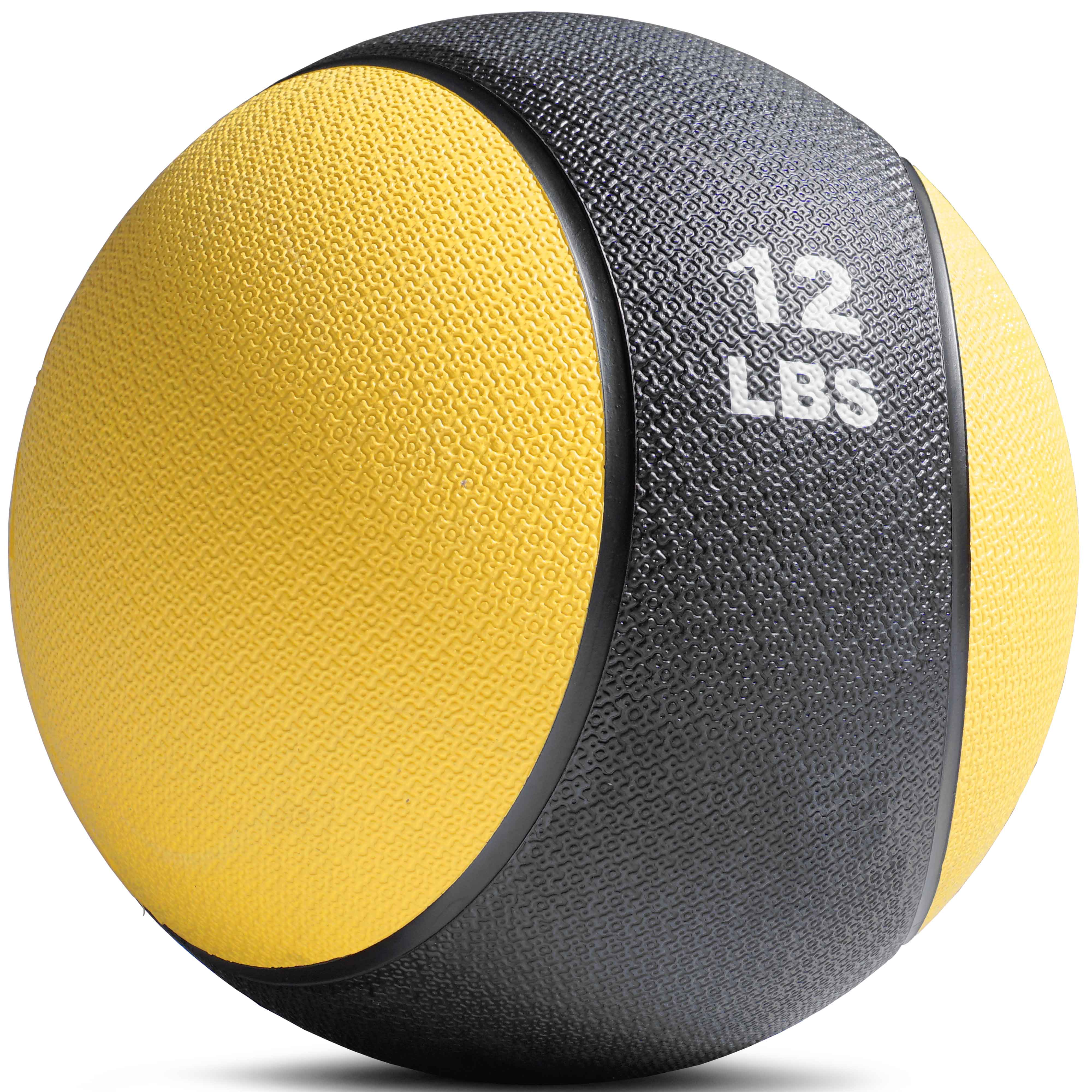 Titan Fitness Weighted Medicine Ball, 12 lb