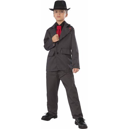 Gangster Child Halloween - Halloween Costume Gangster Girl