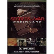 Secrets Of War: Espionage 10 Episodes by Mill Creek