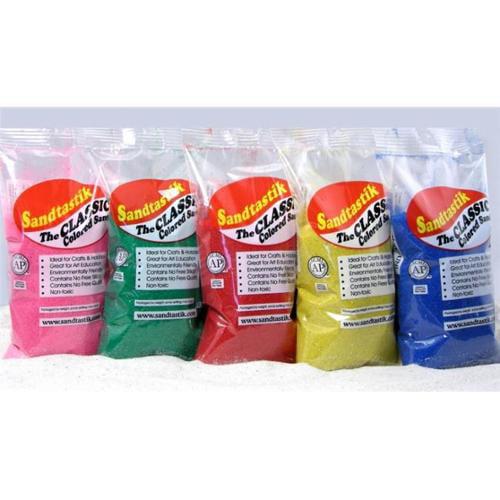 Sandtastik Activity Classic Colored Sand Bag 1 lb (454 g)