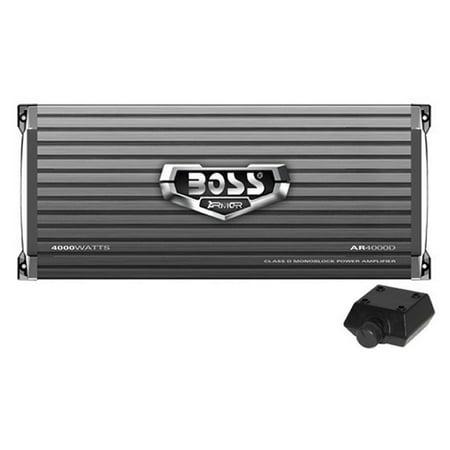 Boss Audio AR4000D Class D Monoblock Amplifier (Best Class D Amplifier)