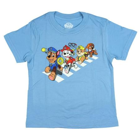 Nickelodeon Paw Patrol Friends on Crosswalk TV Show Cartoon Toddler Boys' T-Shirt](Batman Cartoons For Toddlers)