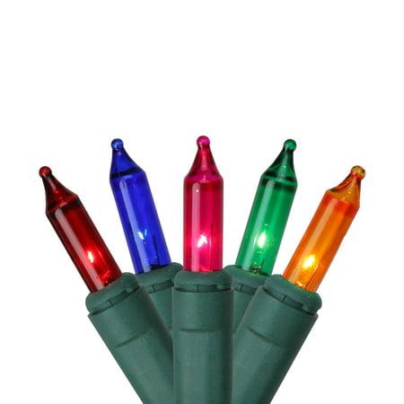 Musical Christmas Light Set (Set of 100 Multi-Color Synchronized Musical Mini Christmas Lights - Green)