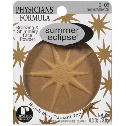 Physicians Formula Summer Eclipse Sunlight/Bronzer Bronzing & Physicians Formula Physicians Formula Shimmery Face Powder .3 Oz