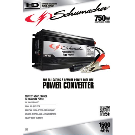 Schumacher Electric 750W Power Converter