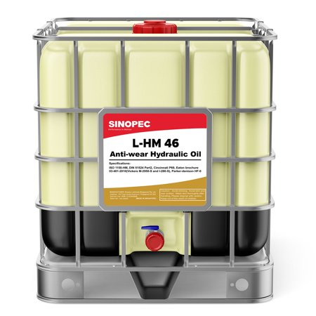 AW 46 Hydraulic Oil Fluid (ISO VG 46, SAE 15), 275 Gallon IBC (275 Gallon Caged Water Tank Ibc Tote)