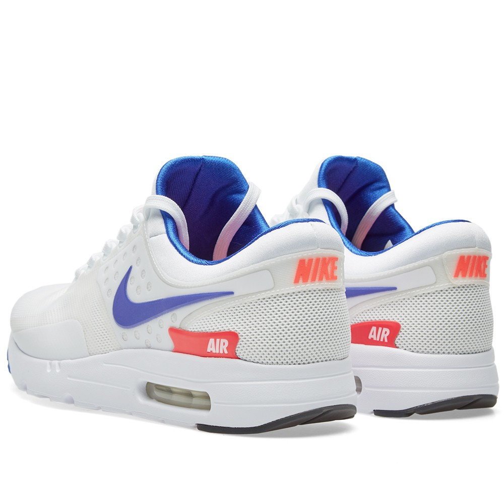 69ee6ca2b515 top quality nike air max zero qs white ultramarine 65246 ac045