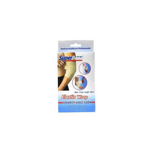 DDI Superband Elastic Wrap Wrist, Ankle, Elbow 3 inch x 24 inch- Case of 36