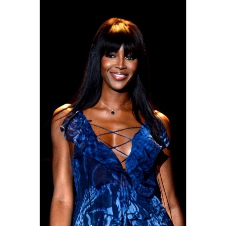 Naomi Campbell On The Runway For Fashion For Relief 2015 Fall Fashion Show Canvas Art     16 X 20