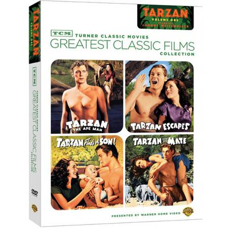 Tcm Greatest Classic Films Collection  Johnny Weissmuller As Tarzan  Vol  1