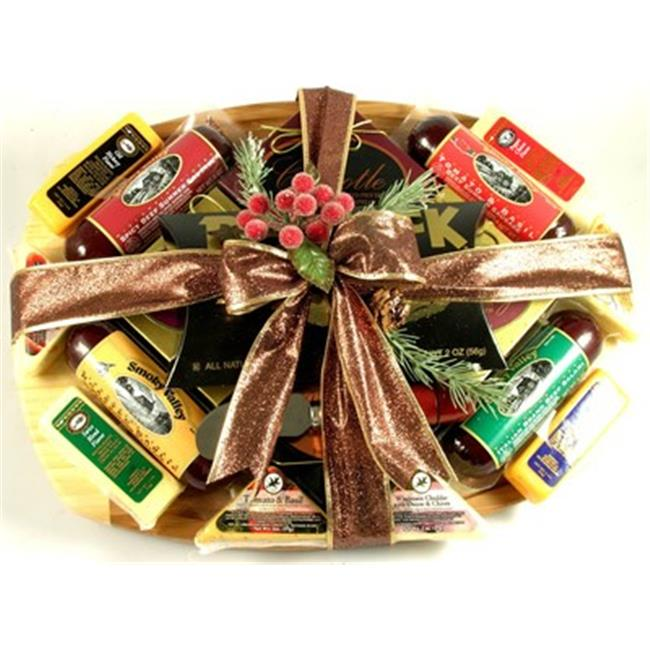 Gift Basket Village ThCuEd11 Cutting Edge Gourmet  Gift Basket with Deluxe Cutting Board